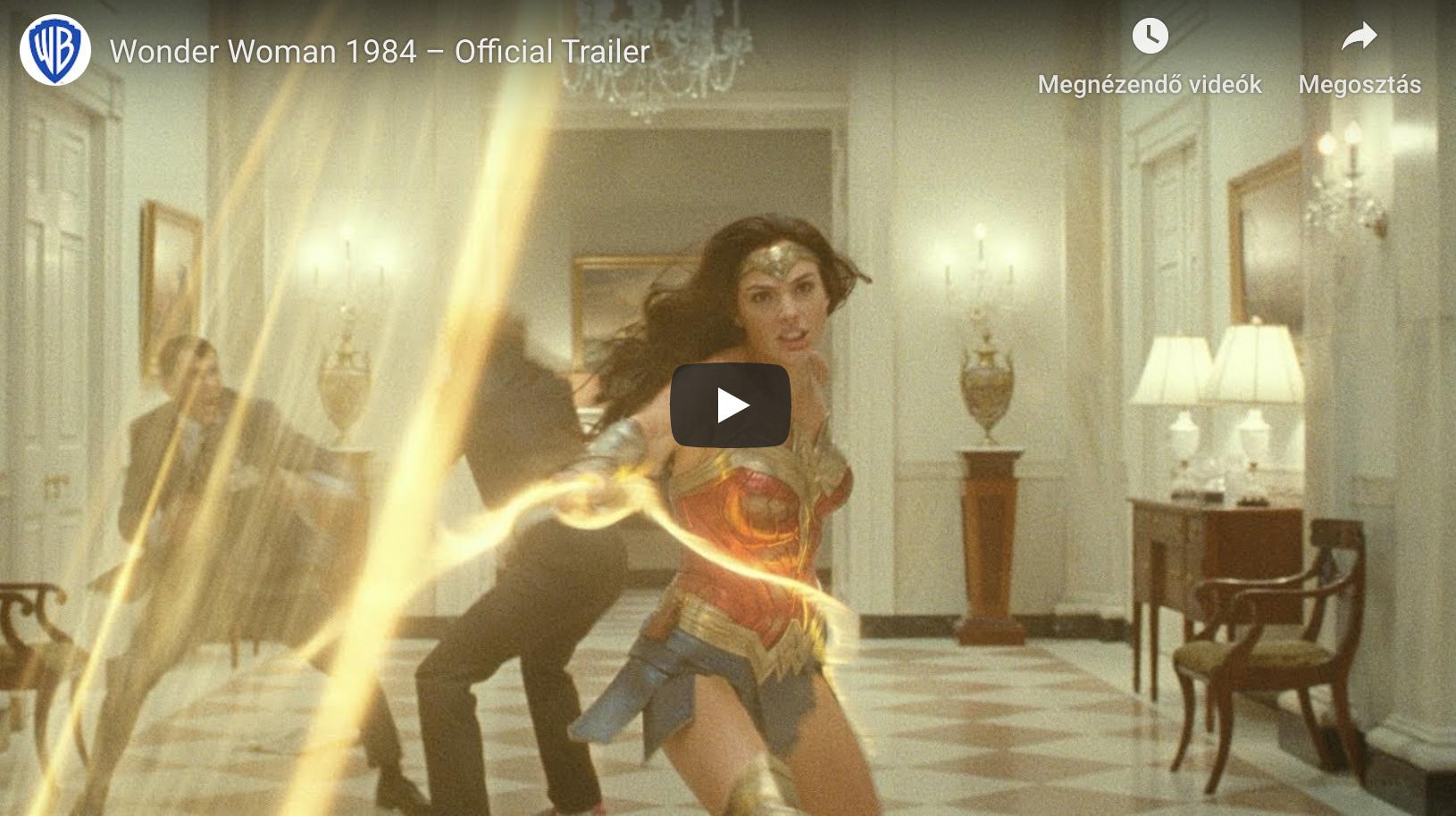 Top2 legjobb film 2020 - Wonder Woman 1984